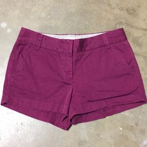 J. Crew Chino Broken-in Shorts